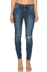 Joe's Jeans The Icon Ankle Distressed Medium Blue