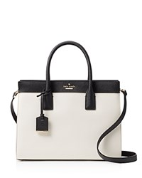 Kate Spade New York Cameron Street Color Block Candace Satchel Toasted Wheat Multi Gold