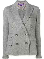 Ralph Lauren Collection Double Breasted Jacket Grey