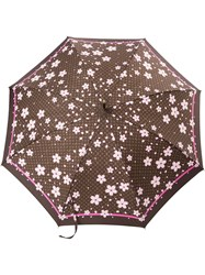 Louis Vuitton Vintage Cherry Blossom Umbrella Brown