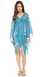 Lotta Stensson Cape Cod Petite Poncho Washed Blue