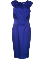 Zac Posen 'Irina' Dress Blue