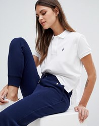 Polo Ralph Lauren Bring It Back Pack Cropped Shirt White