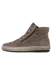 Gabor Hightop Trainers Wallaby Beige