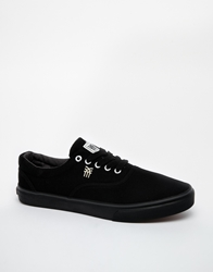 Fenchurch Plimsolls Black