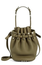 Alexander Wang 'Small Diego Nickel' Leather Bucket Bag
