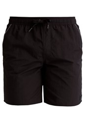 Adidas Performance Swimming Shorts Black Dark Grey