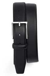 Men's Big And Tall Nordstrom Leather Belt Black