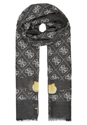 Guess Regatta Scarf Black Multi