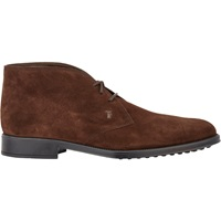 Suede Chukka Boots Dk.Brown