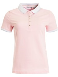 Green Lamb Patsy Jersey Club Polo Pink