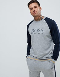 Boss Bodywear Authentic Sweatshirt Grey