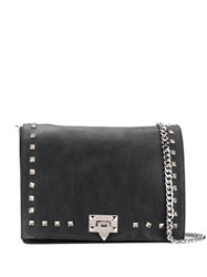Marc Ellis Studed Shoulder Bag Black