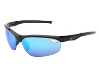 Tifosi Optics Veloce Mirrored Golf Interchangeable Gloss Black Clarion Blue Gt Ec Lens Athletic Performance Sport Sunglasses