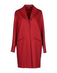 Adele Fado Full Length Jackets Brick Red