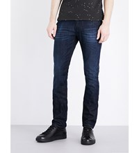 Armani Jeans J06 Slim Fit Straight Dark Blue