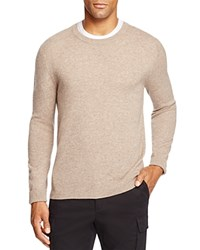Bloomingdale's The Men's Store At Cashmere Crewneck Sweater Heather Brown