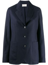The Row Tailored Blazer Jacket Blue
