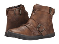 Blowfish Crater Whiskey Old Saddle Pu Women's Zip Boots Brown
