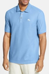 Tommy Bahama Relax The Emfielder Pique Polo Big And Tall Blue
