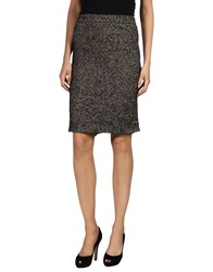 Zac Posen Knee Length Skirts Black
