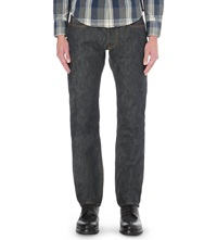 Hawksmill Denim Co Loose Fit Tapered Jeans Japanese Selvedge