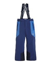 Stefano Ricci Boys' Ski Pants With Suspenders Blue