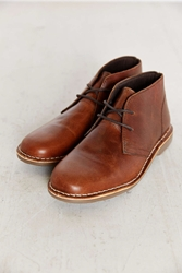 Hawkings Mcgill Leather Desert Boot Brown