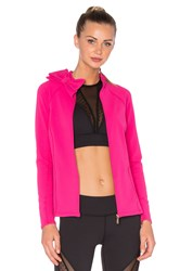Beyond Yoga X Kate Spade Neck Bow Jacket Fuchsia