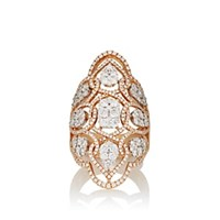Sara Weinstock Reverie Shield Ring Gold