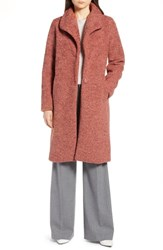 Halogen Faux Fur Coat Rose