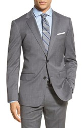 Men's Bonobos Trim Fit Solid Stretch Wool Sport Coat