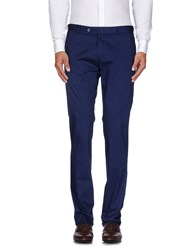 Luigi Bianchi Mantova Trousers Casual Trousers Men Blue