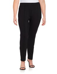 Nipon Boutique Plus Ponte Ankle Pants Black