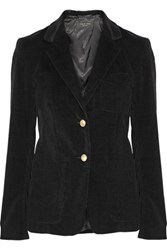 Rag And Bone Gilbert Stretch Cotton Corduroy Blazer Black