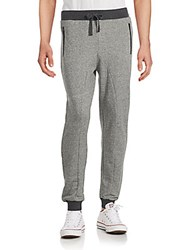 Sovereign Code Ollio Ribbed Jogger Pants Grey