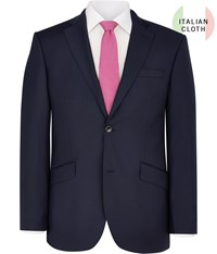 Austin Reed Cut Contemporary Fit Navy Twill Jacket
