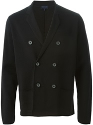 Lanvin Double Breasted Cardigan Black