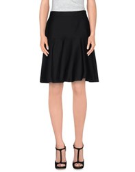Max Mara Studio Skirts Knee Length Skirts Women Black