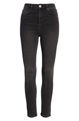 Bdg Urban Outfitters Pine High Waist Skinny Jeans Carbon