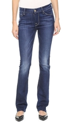 7 For All Mankind The Skinny Boot Cut Jeans Monarq Blue