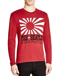 Bravado Beatles Sun Tee Heathered Red