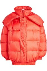 Vetements Double Puffer Jacket Red