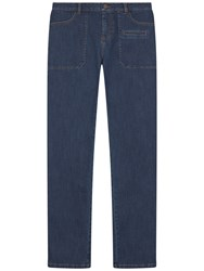 Gerard Darel Denim Cacou Trousers Light Indigo