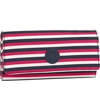 Kipling Brownie Large Nylon Wallet Sugar Stripes