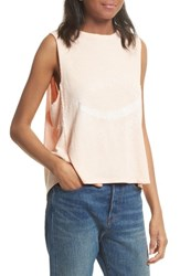 Free People Women's Planet Me Tank Peach