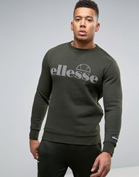 Ellesse Sweatshirt With Large Logo Green