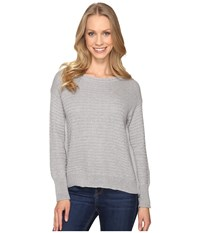 Mod O Doc Fully Fashion Sweater Side Zip Sweater Heather Grey Women's Sweater Gray