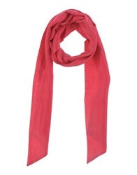 Faith Connexion Oblong Scarves Coral