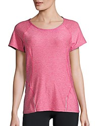 Reebok Accelerate Performance T Shirt Beetroot Pink